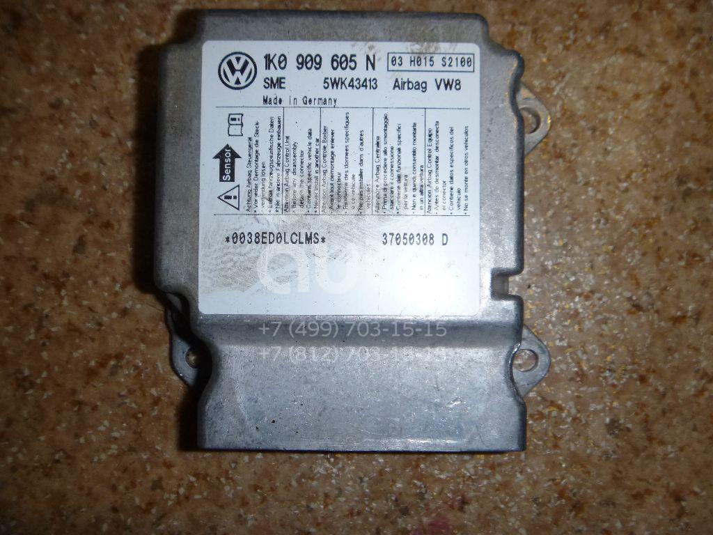 Блок управления AIR BAG для Skoda,VW Octavia (A5 1Z-) 2004-2013;Golf V Plus 2005-2014;Golf V 2003-2009;Jetta 2006-2011 - Фото №1
