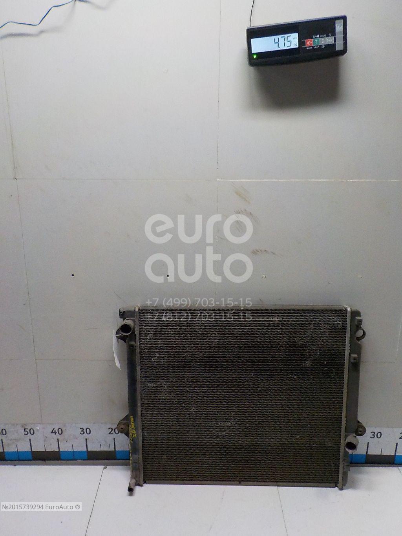 Радиатор основной для Toyota Land Cruiser (120)-Prado 2002-2009 - Фото №1