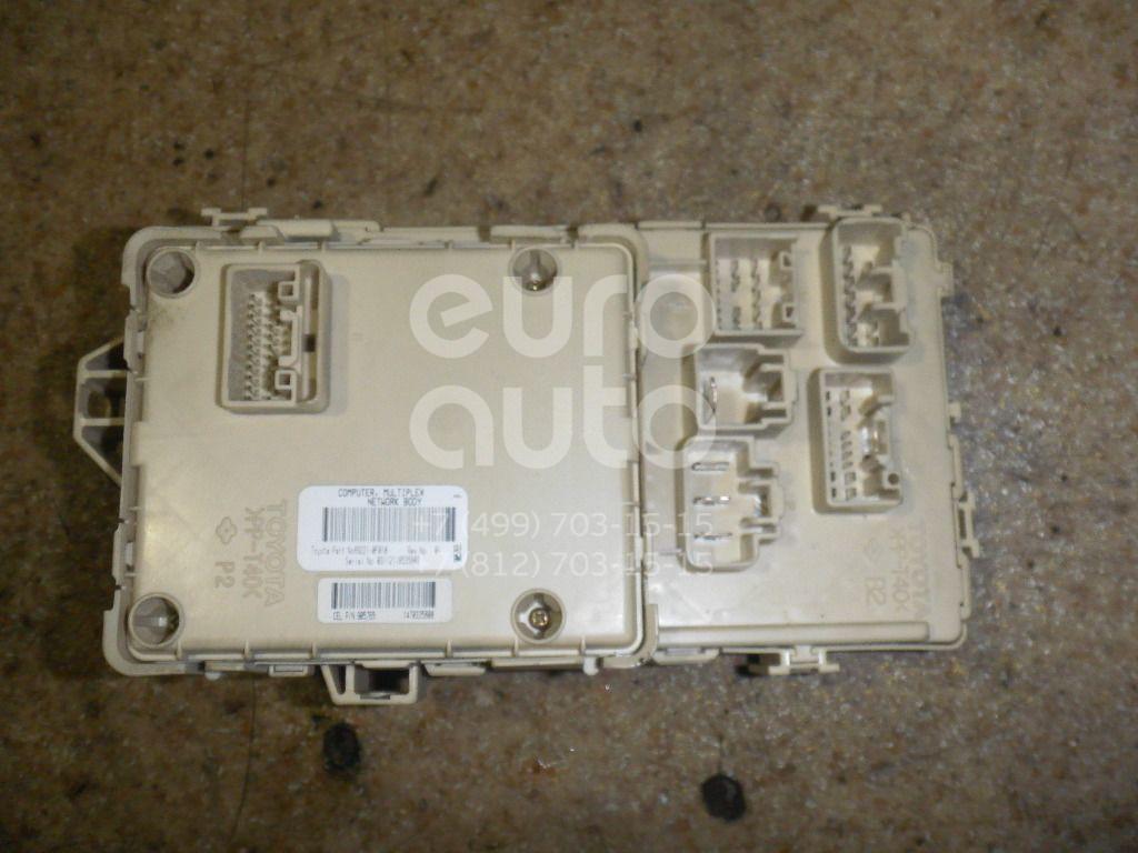 Блок предохранителей для Toyota CorollaVerso 2004-2009 - Фото №1