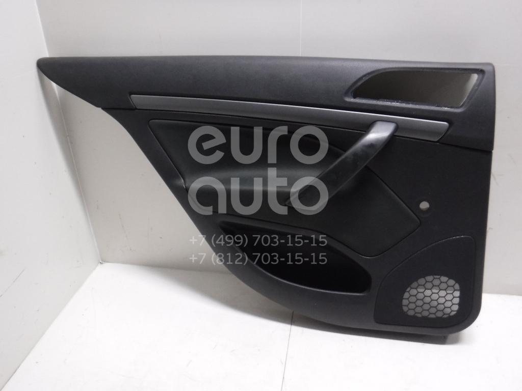 Обшивка двери задней левой для Skoda Octavia (A5 1Z-) 2004-2013 - Фото №1