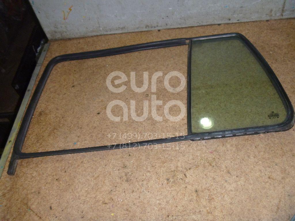 Стекло двери задней левой (форточка) для VW Golf III/Vento 1991-1997 - Фото №1