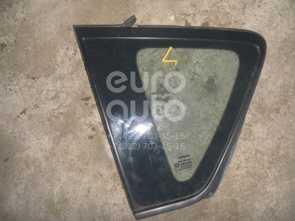 Стекло кузовное глухое левое для Toyota CorollaVerso 2004-2009 - Фото №1