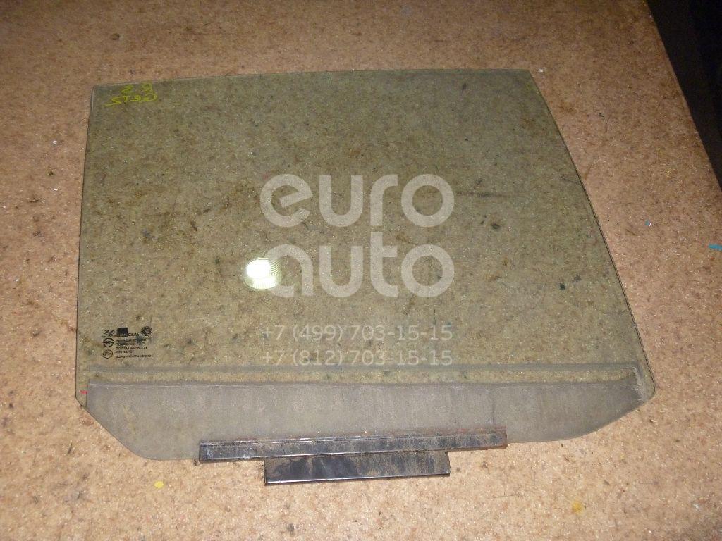 Стекло двери задней правой для Hyundai Getz 2002-2010 - Фото №1