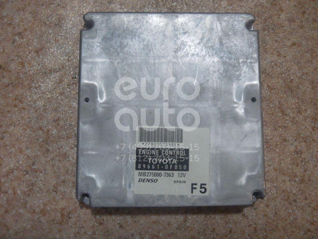 Блок управления двигателем для Toyota CorollaVerso 2004-2009 - Фото №1