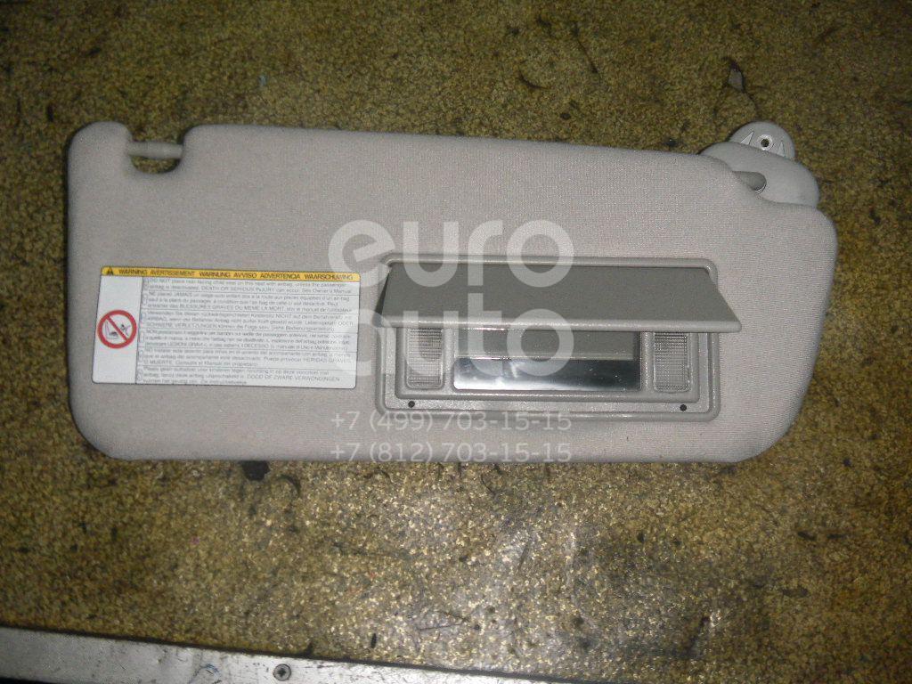Козырек солнцезащитный (внутри) для Toyota CorollaVerso 2004-2009 - Фото №1