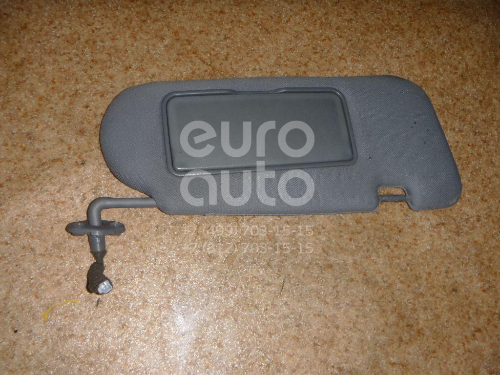Козырек солнцезащитный (внутри) для Kia Sorento 2003-2009 - Фото №1