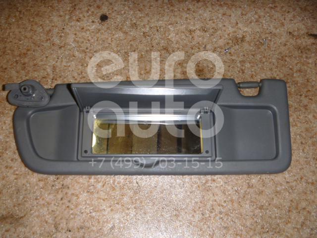 Козырек солнцезащитный (внутри) для Honda Civic 4D 2006-2012 - Фото №1