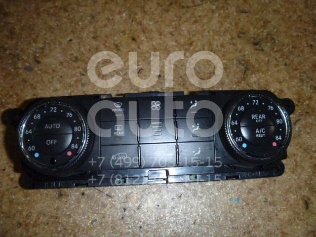 Блок управления климатической установкой для Mercedes Benz W164 M-Klasse (ML) 2005-2011;W251 R-Klasse 2005> - Фото №1