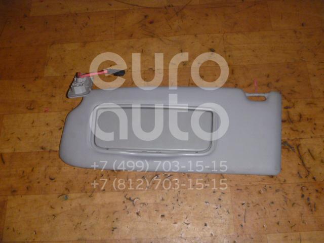 Козырек солнцезащитный (внутри) для Volvo V50 2004-2012 - Фото №1