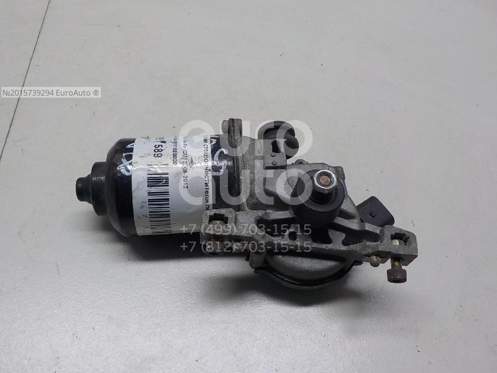 Моторчик стеклоочистителя передний для Hyundai Santa Fe (CM) 2005-2012 - Фото №1