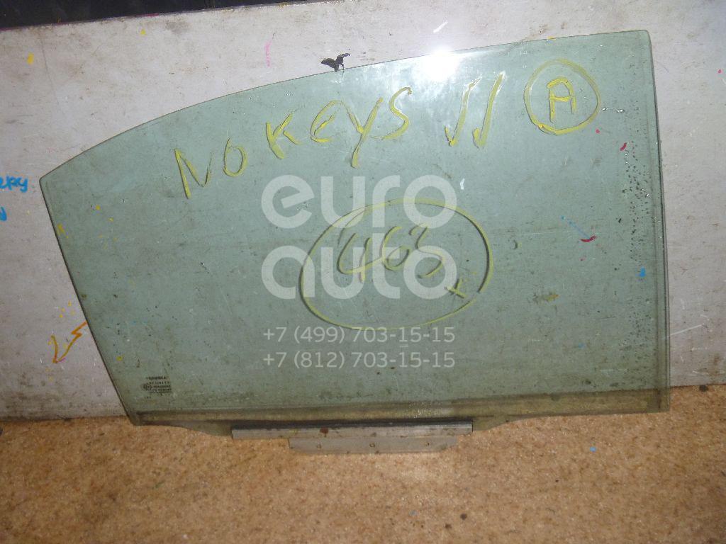 Стекло двери задней правой для Toyota Avensis II 2003-2008 - Фото №1