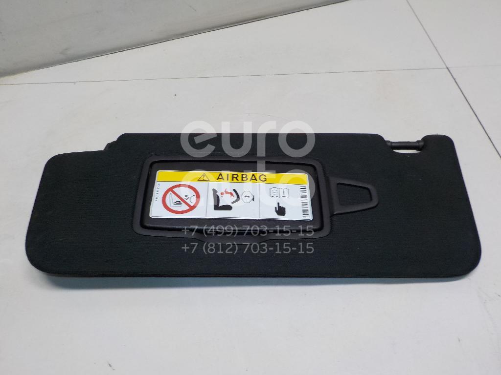 Купить Козырек солнцезащитный (внутри) Mercedes Benz W222 2013-; (22281087009H99)