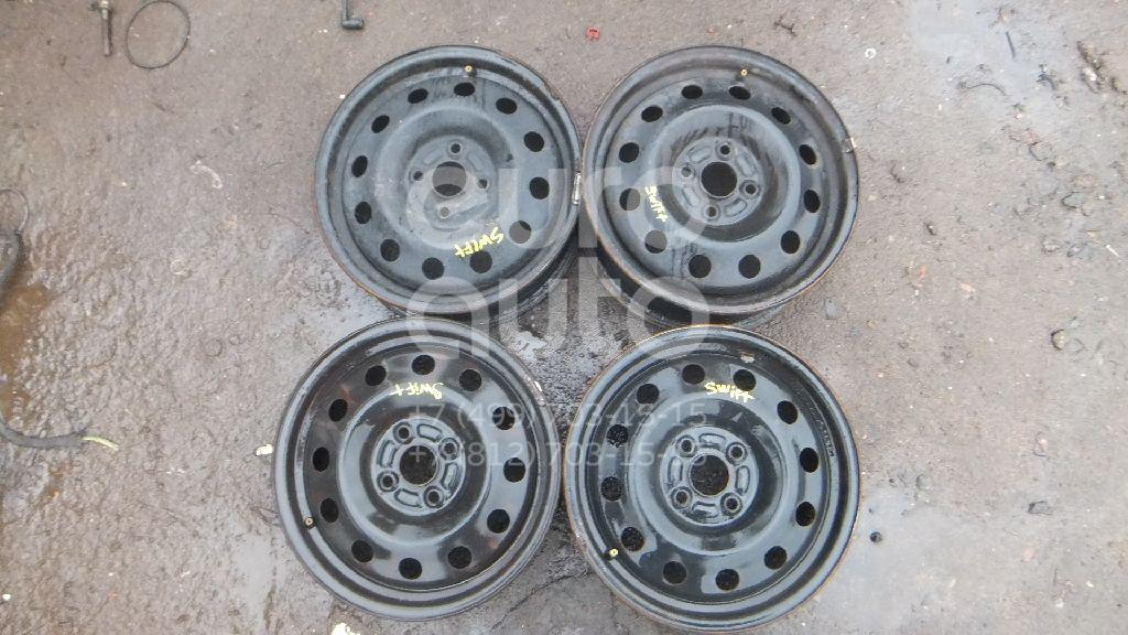 Диск колесный железо для Suzuki Swift 2004-2010 - Фото №1