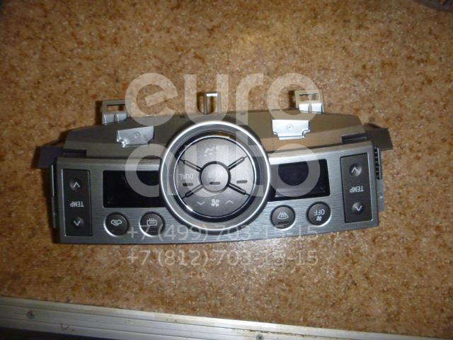 Панель управления печкой для Toyota Verso 2009> - Фото №1