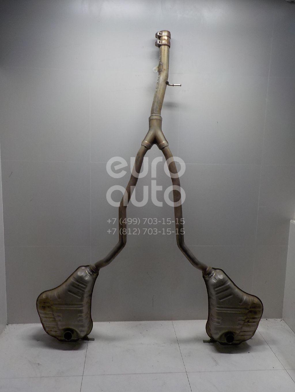 Глушитель основной для VW Phaeton 2002-2016 - Фото №1