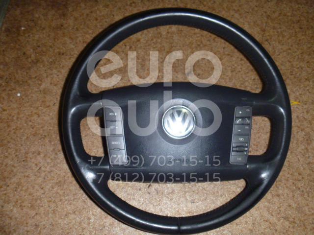 Рулевое колесо с AIR BAG для VW Phaeton 2002-2016 - Фото №1