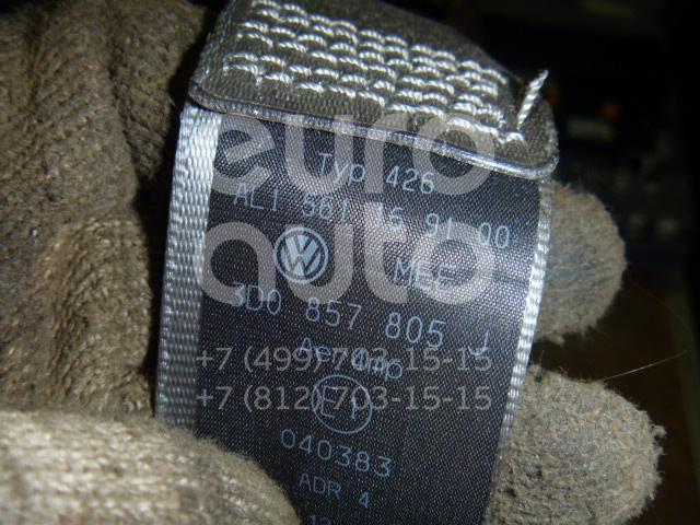 Ремень безопасности с пиропатроном для VW Phaeton 2002-2016 - Фото №1