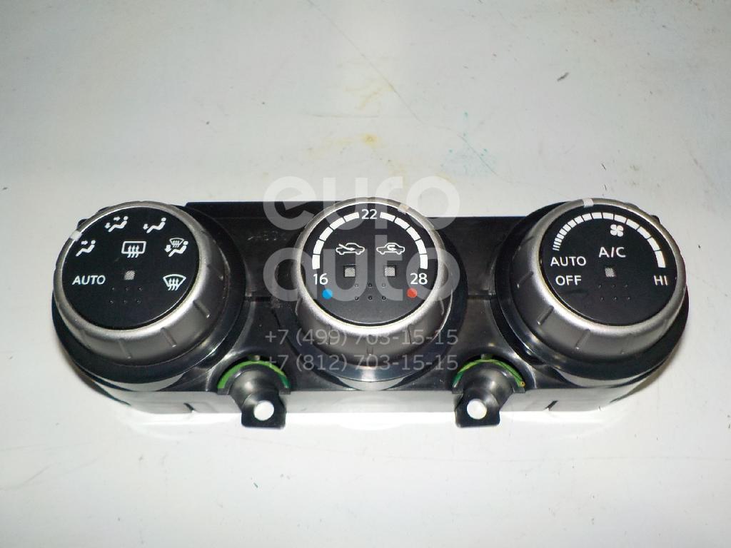 Блок управления климатической установкой для Nissan Murano (Z50) 2004-2008 - Фото №1