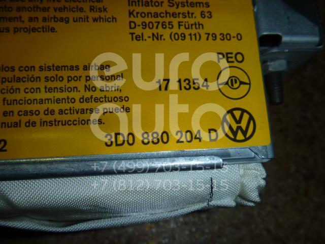 Подушка безопасности пассажирская (в торпедо) для VW Phaeton 2002-2016 - Фото №1