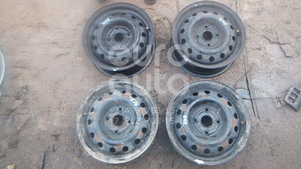 Диски колесные железо (к-кт) для Chevrolet Rezzo 2005-2010 - Фото №1