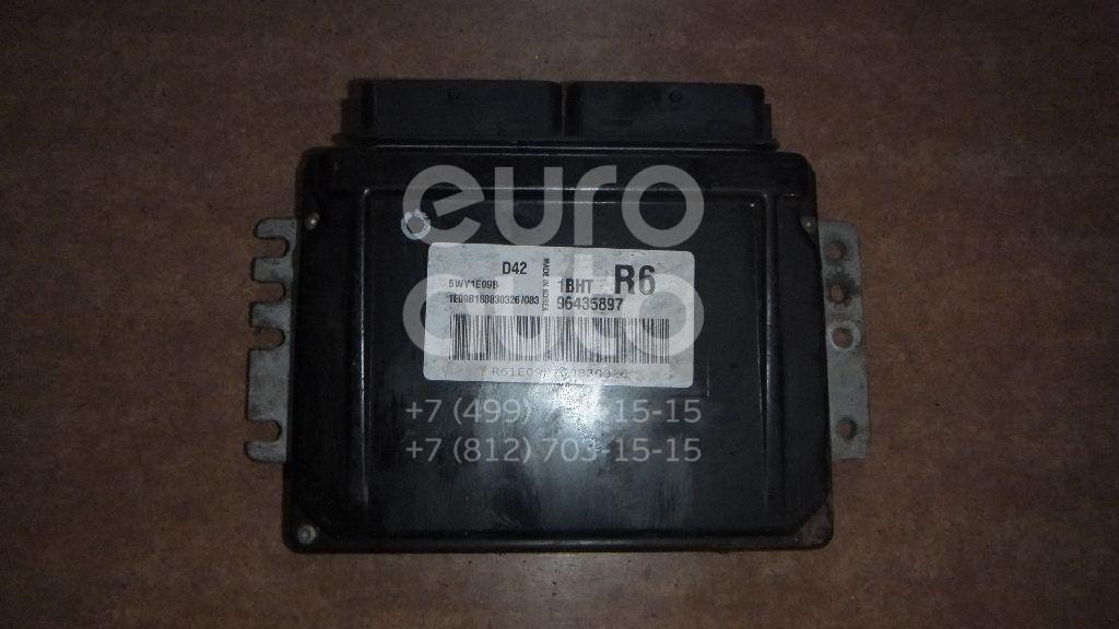 Блок управления двигателем для Chevrolet Rezzo 2003-2010 - Фото №1