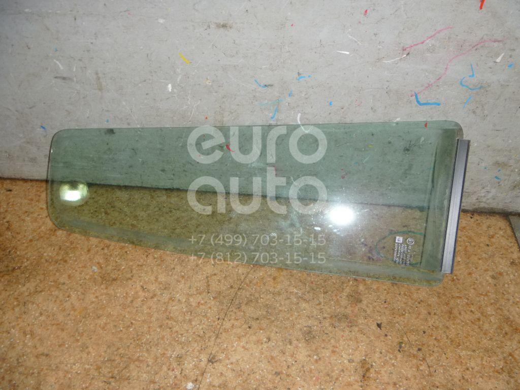 Стекло двери задней левой (форточка) для Opel Zafira (F75) 1999-2005 - Фото №1
