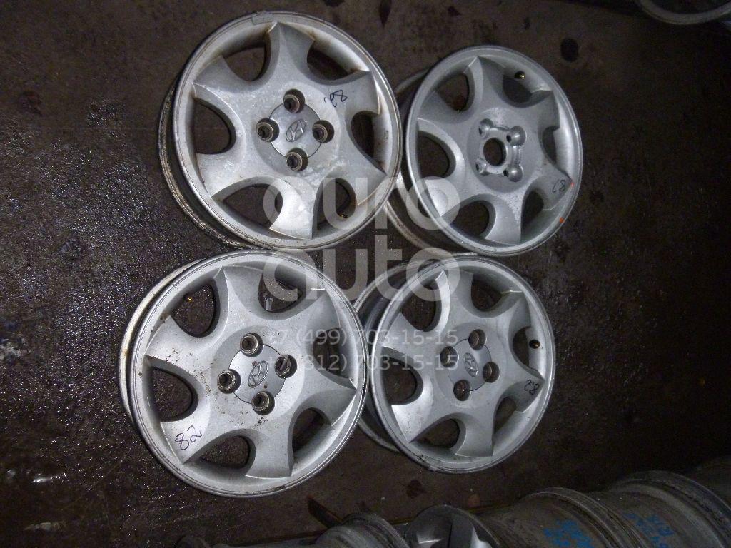 Диски колесные легкосплавные (к-кт) для Hyundai Getz 2002-2010 - Фото №1