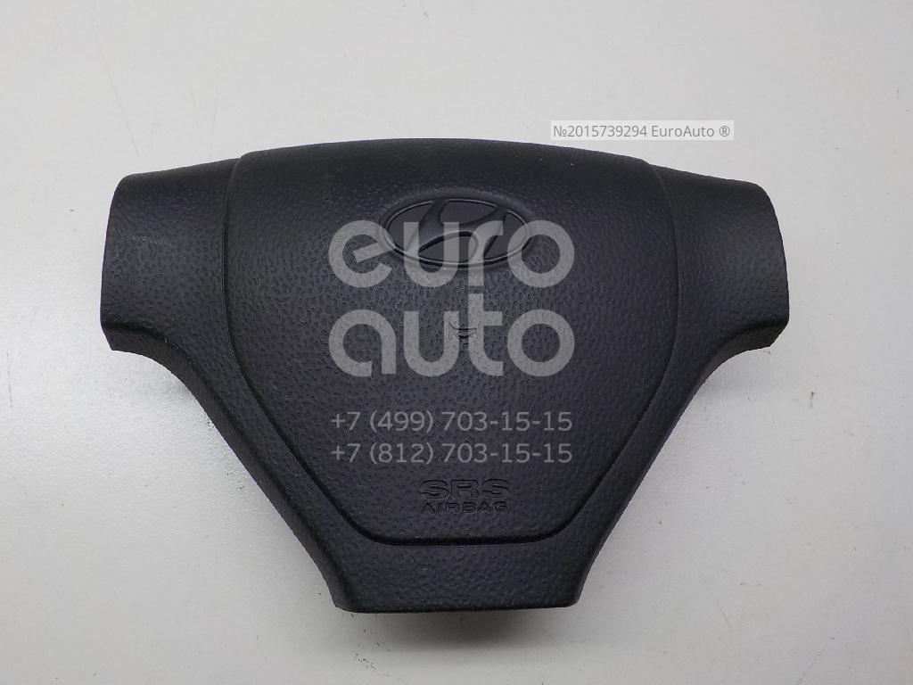 Подушка безопасности в рулевое колесо для Hyundai Getz 2002-2010 - Фото №1