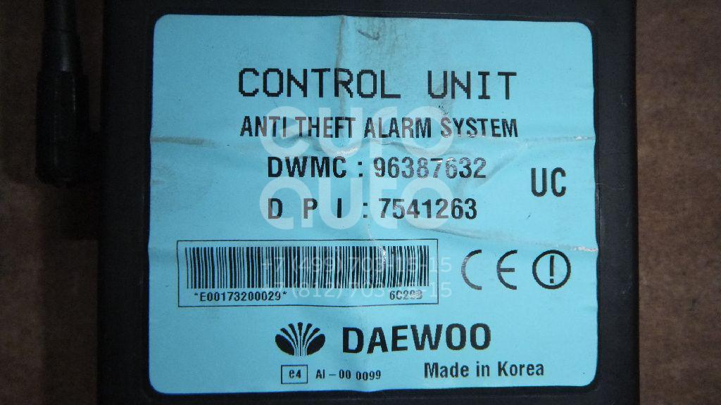 Блок сигнализации (штатной) для Chevrolet,Daewoo Rezzo 2005-2010;Rezzo 2000-2011;Nubira 1999-2003 - Фото №1