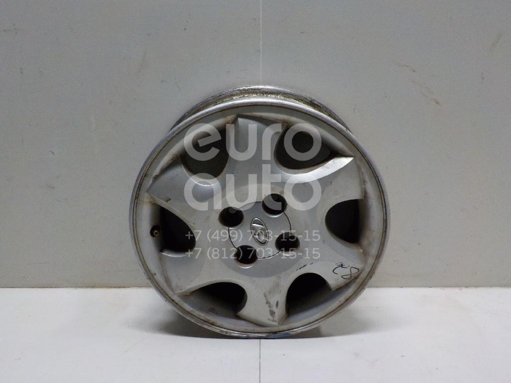Диск колесный легкосплавный для Hyundai Getz 2002-2010 - Фото №1
