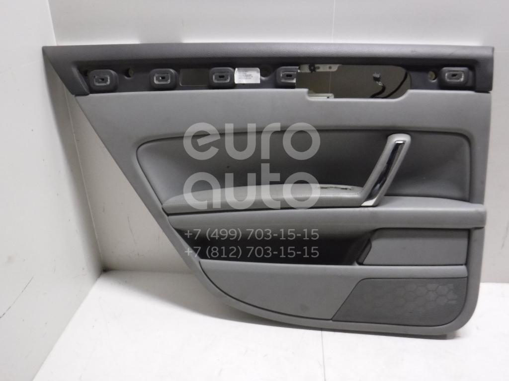 Обшивка двери задней левой для VW Phaeton 2002-2016 - Фото №1
