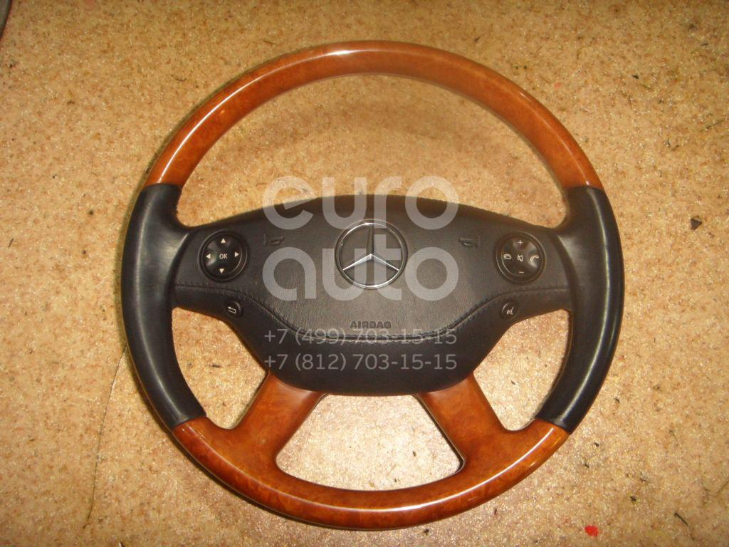 Рулевое колесо с AIR BAG для Mercedes Benz W221 2005-2013 - Фото №1