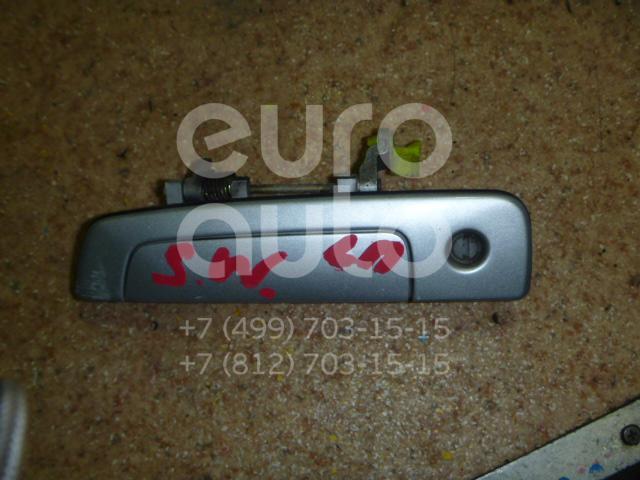 Ручка двери передней наружная левая для Mitsubishi Space Wagon (N8,N9) 1998-2004 - Фото №1