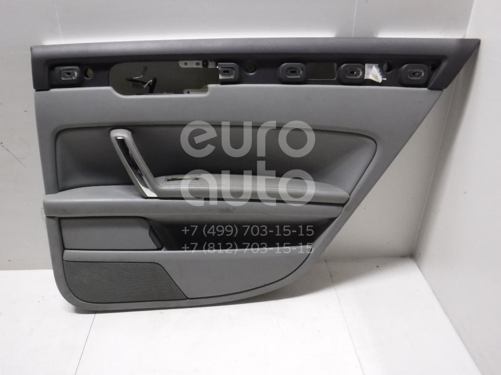 Обшивка двери задней правой для VW Phaeton 2002-2016 - Фото №1