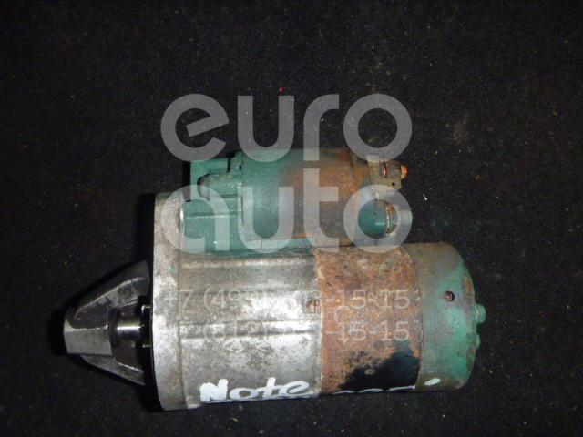 Стартер для Nissan Note (E11) 2006-2013;Micra (K12E) 2002-2010 - Фото №1