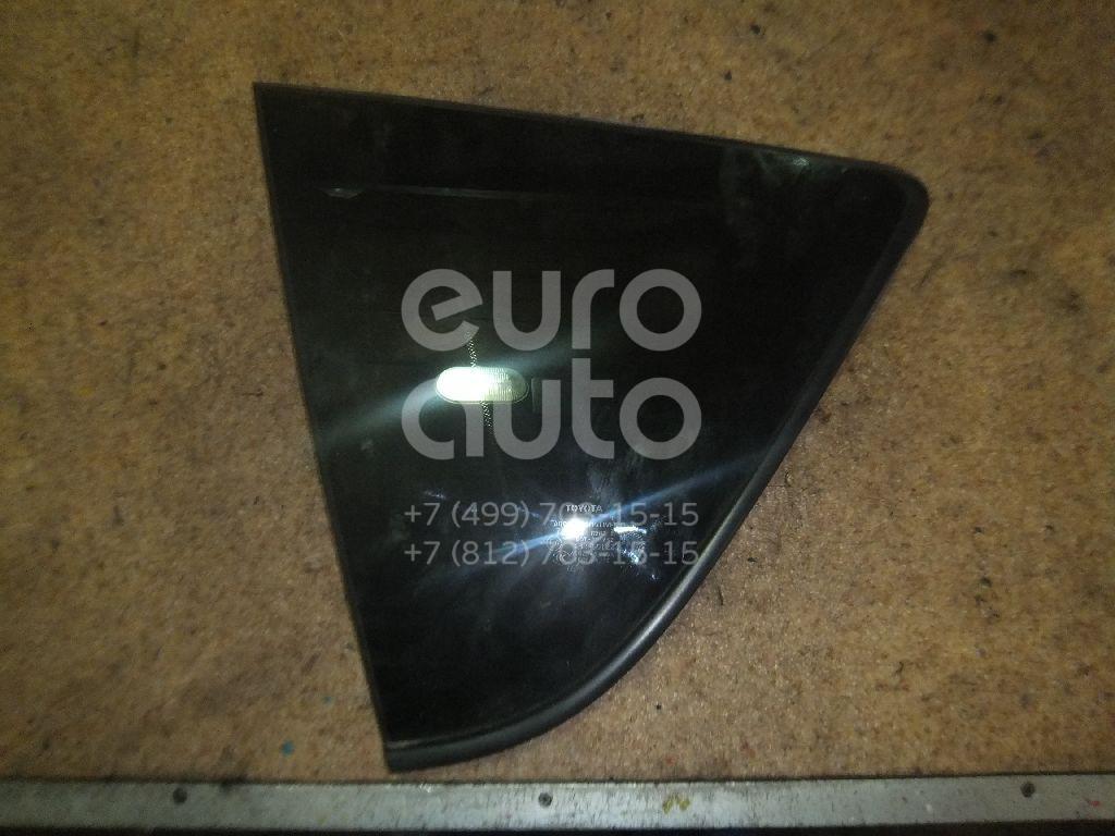 Стекло кузовное глухое левое для Toyota RAV 4 2006-2013 - Фото №1