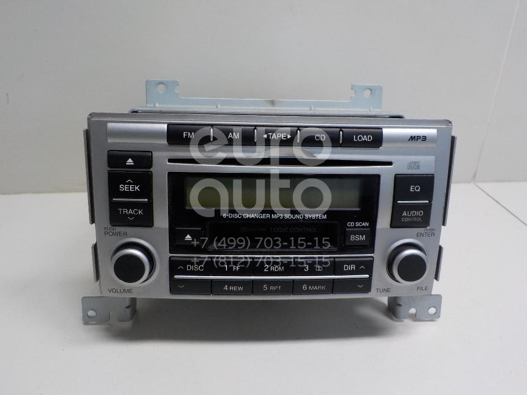 Магнитола для Hyundai Santa Fe (CM) 2006-2012 - Фото №1