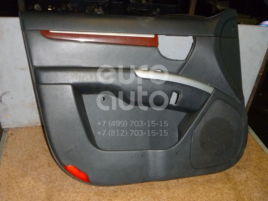 Обшивка двери передней левой для Hyundai Santa Fe (CM) 2006-2012 - Фото №1