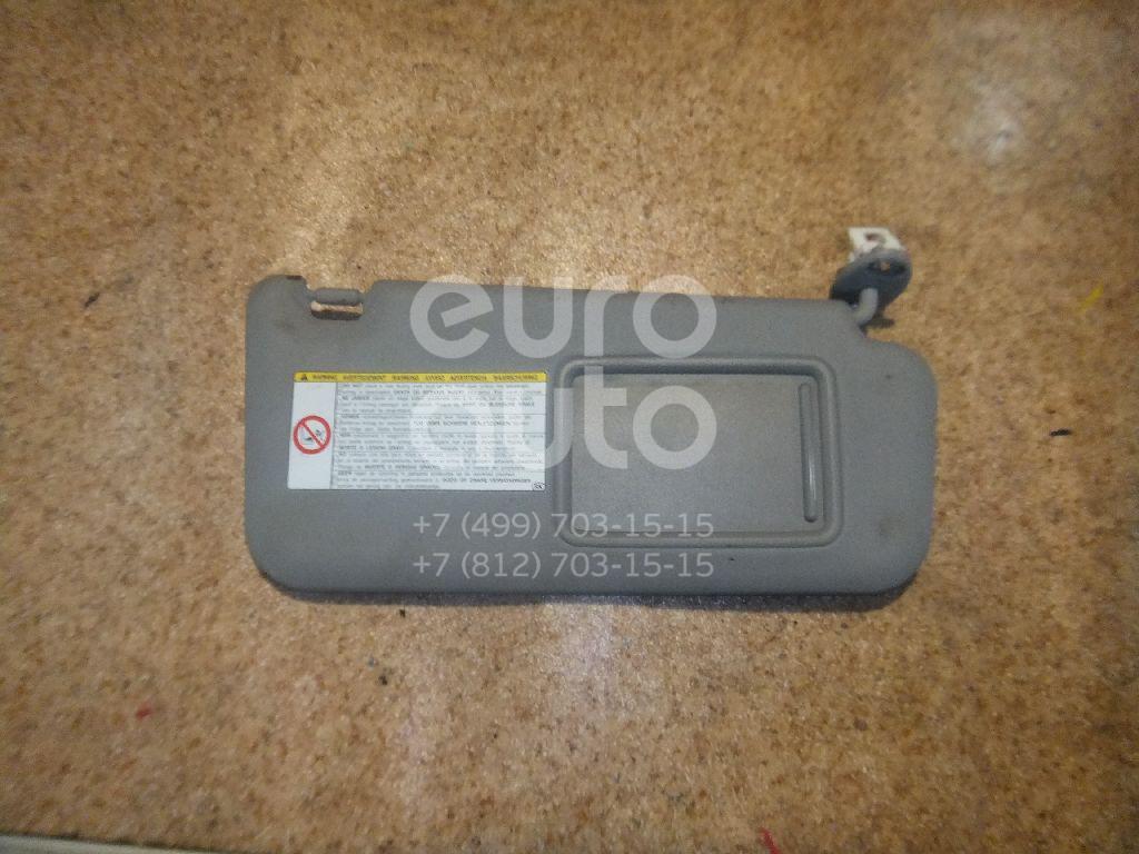 Козырек солнцезащитный (внутри) для Toyota RAV 4 2006-2013 - Фото №1