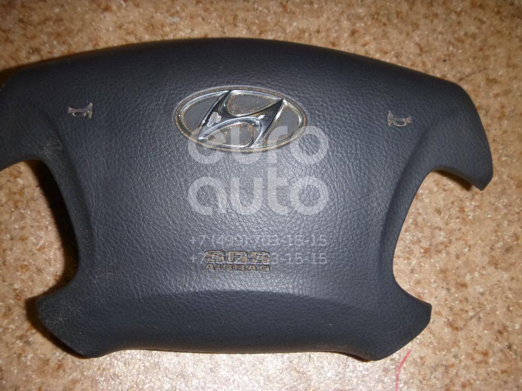 Подушка безопасности в рулевое колесо для Hyundai Grandeur (IV) 2005-2010 - Фото №1