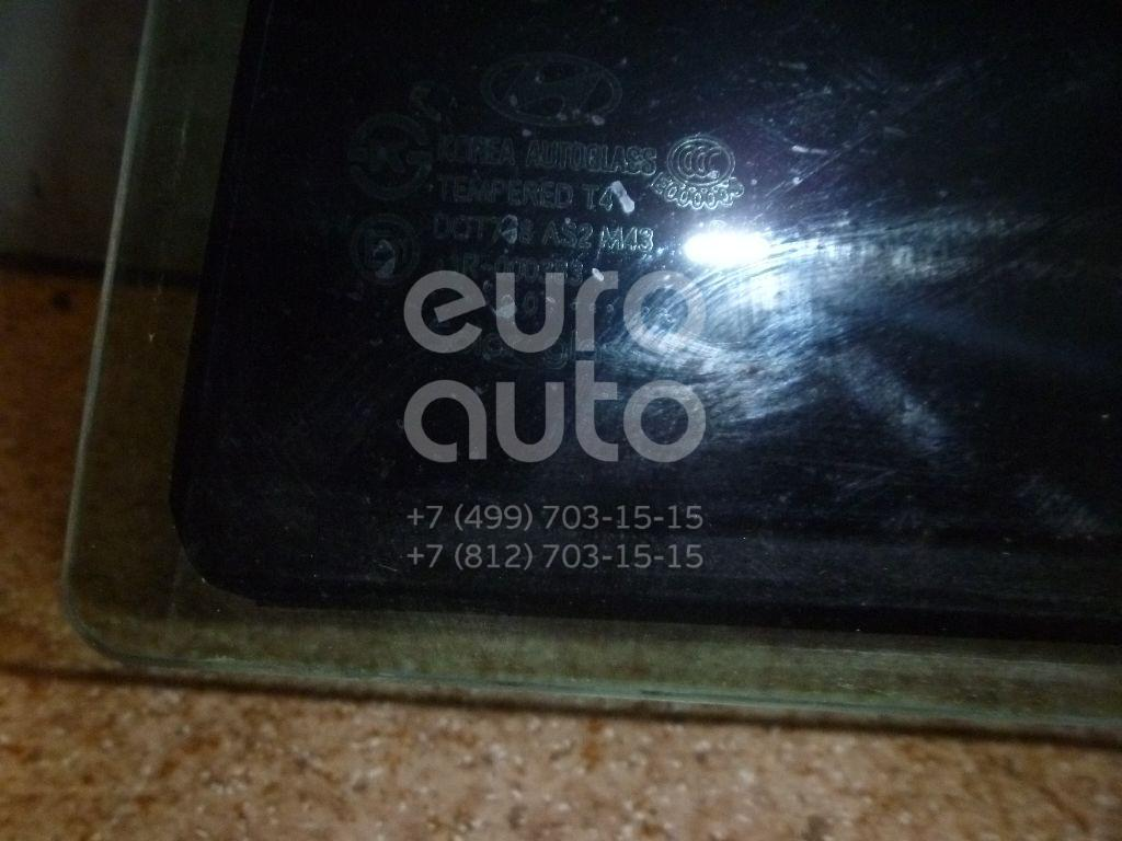 Стекло двери задней левой для Hyundai Grandeur (IV) 2005-2010 - Фото №1