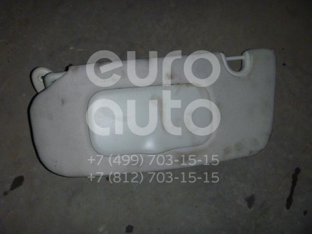 Козырек солнцезащитный (внутри) для Jeep Compass (MK49) 2006-2016 - Фото №1