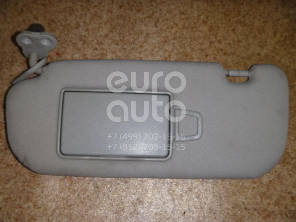 Козырек солнцезащитный (внутри) для Hyundai Grandeur (IV) 2005-2010 - Фото №1