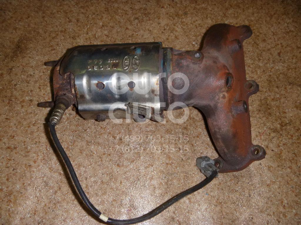 Коллектор выпускной для Hyundai Grandeur (IV) 2005-2010;Santa Fe (CM) 2005-2012 - Фото №1