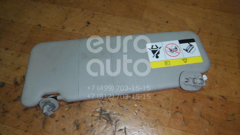 Козырек солнцезащитный (внутри) для Renault Duster 2012>;Sandero 2009-2014 - Фото №1