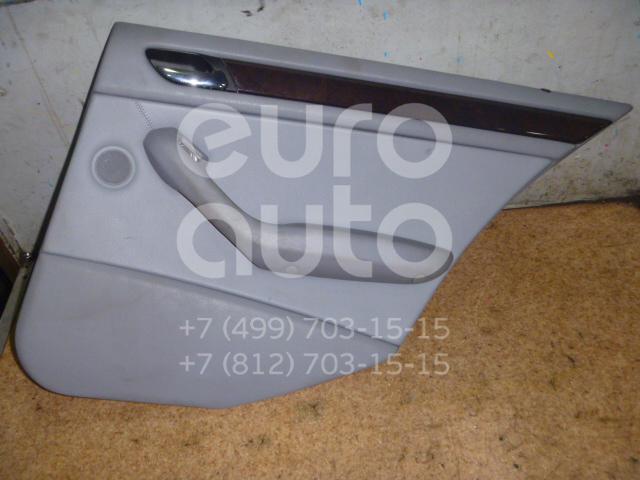 Обшивка двери задней правой для BMW 3-серия E46 1998-2005 - Фото №1