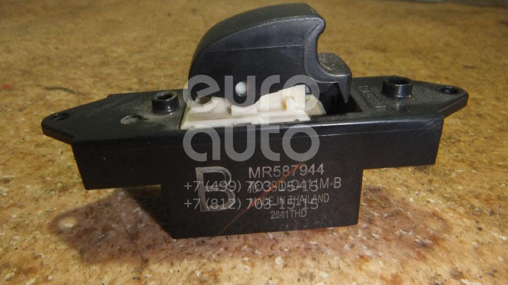 Кнопка стеклоподъемника для Mitsubishi Lancer (CX,CY) 2007>;Colt (Z3) 2003-2012;Pajero/Montero III (V6, V7) 2000-2006;Lancer (CS/Classic) 2003-2008;Pajero/Montero IV (V8, V9) 2007>;Outlander XL (CW) 2006-2012 - Фото №1