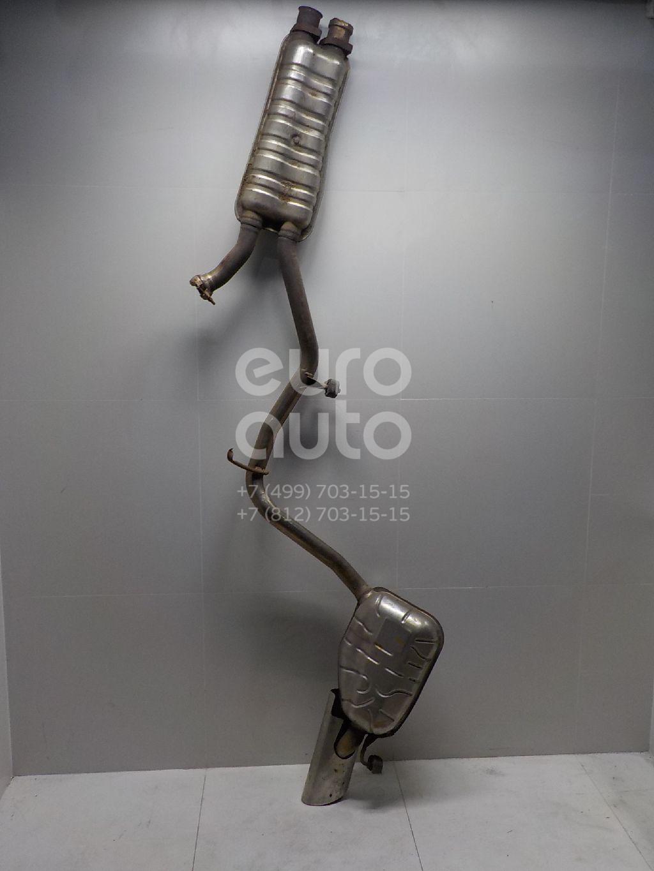 Задняя часть глушителя для Mercedes Benz W219 CLS 2004-2010 - Фото №1