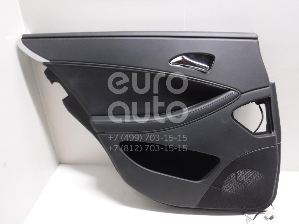 Обшивка двери задней левой для Mercedes Benz W219 CLS 2004-2010 - Фото №1