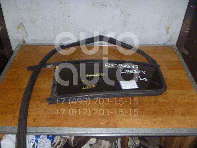 Стекло двери задней левой (форточка) для Jeep Liberty (KJ) 2002-2006 - Фото №1